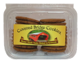 Covered Bridge Gingersnap Cookies