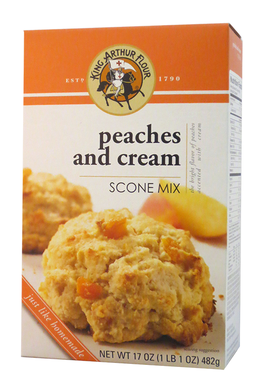King Arthur Flour Peaches & Cream Scone Mix | Vermont Roots