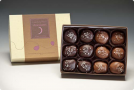 Laughing Moon Chocolates Salted Caramels