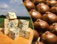 Laughing Moon Chocolates Blue Cheese Truffles