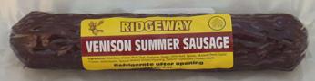 Ridgeway Red Deer Sausage