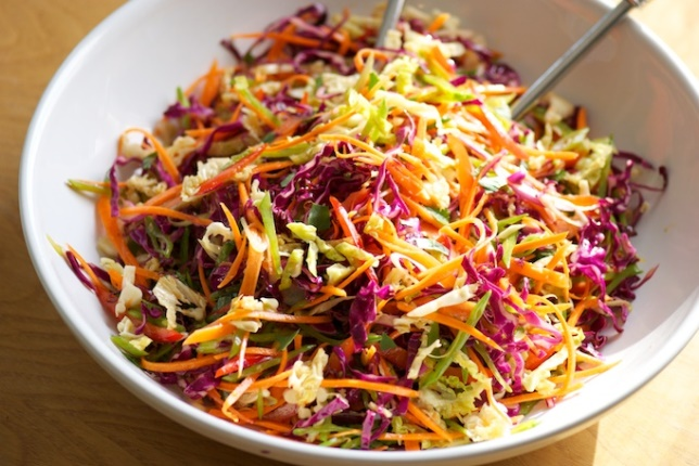 Asian Slaw | Vermont Roots