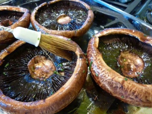 Maple Marinated Portabella Mushrooms | Vermont Roots