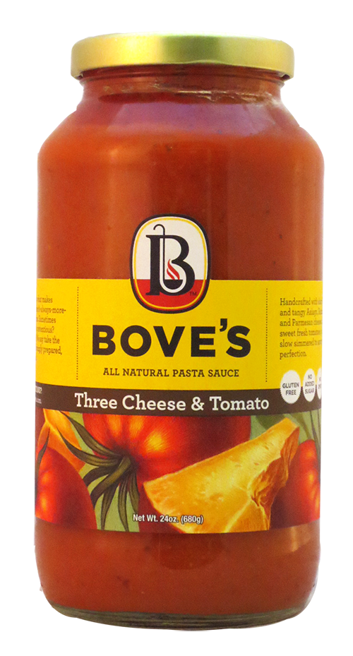 Bove's 3 Cheese & Tomato Sauce