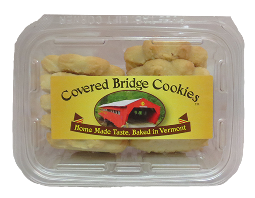 Covered Bridge  Maple Shortbread Cookies
