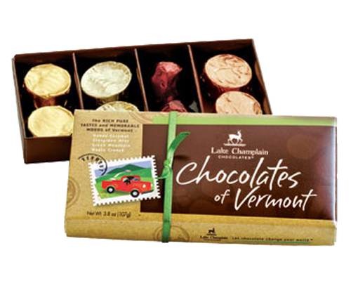 Lake Champlain Chocolate 8pc Boxed Chocolate of Vermont