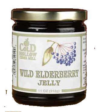 Cold Hollow Wild Elderberry Jelly