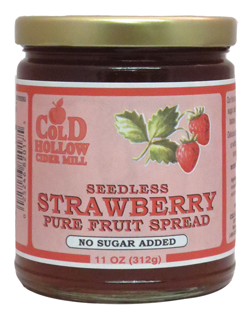 Cold Hollow Seedless Strawberry Fruit Spread