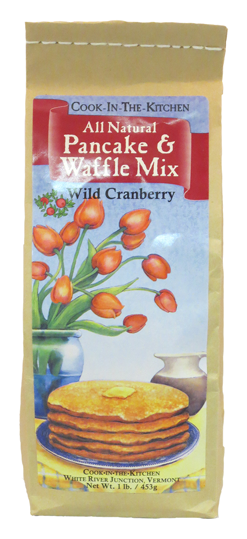 Cook in the Kitchen Wild Cranberry Pancake Mix
