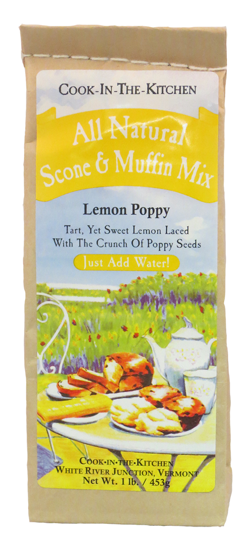 Cook in the Kitchen Lemon Poppy Seed Muffin & Scone Mix