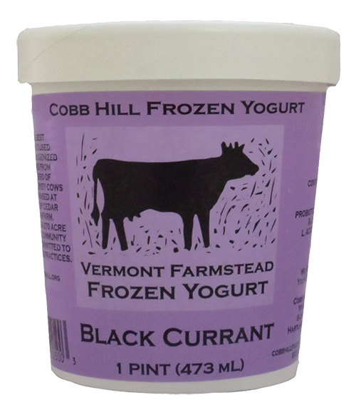 Cobb Hill Black Currant Frozen Yogurt