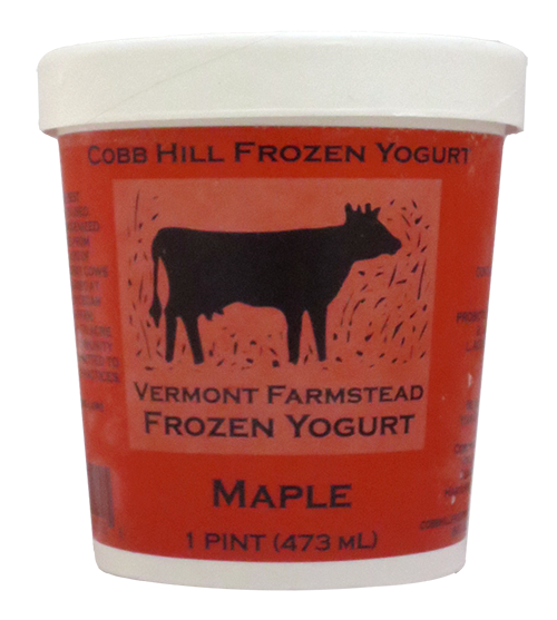 Cobb Hill Maple Frozen Yogurt