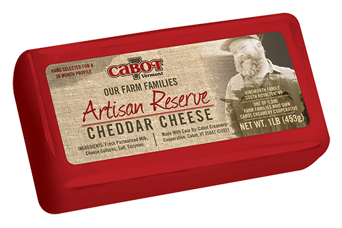 Cabot Cheese Artisan Reserve Cheddar