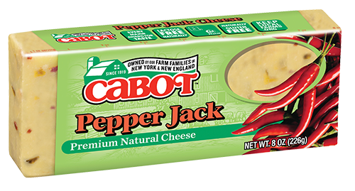 Cabot Cheese Pepper Jack Dairy Bar #759