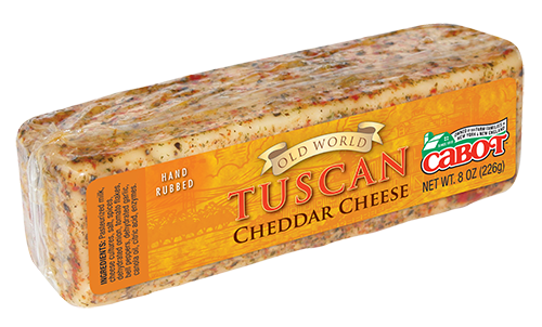 Cabot Cheese Tuscan Encrusted Cheddar Bar #1041