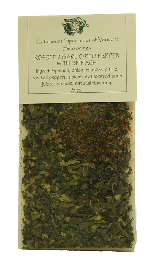 Catamount Spinach / Roasted Garlic Seasonings