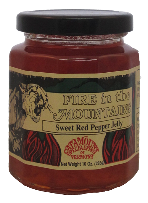 Catamount Specialties Sweet Red Pepper Jelly