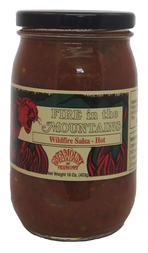 Catamount Specialties Wild Fire Salsa (Hot)