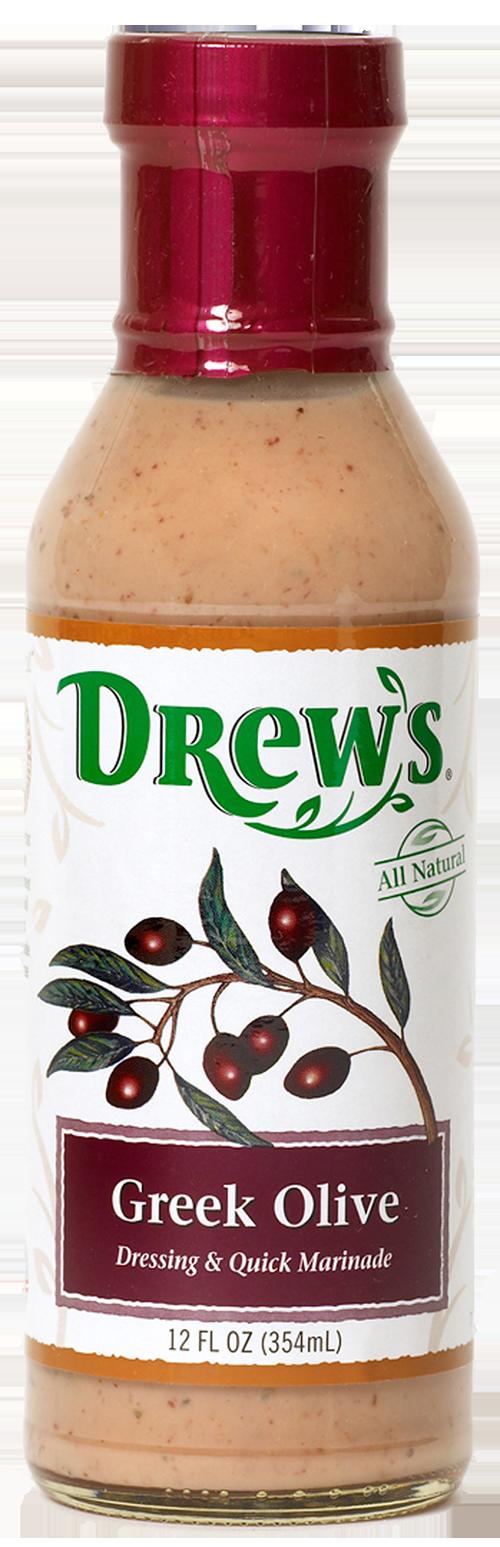 Drew's Kalamata Olive & Caper Dressing