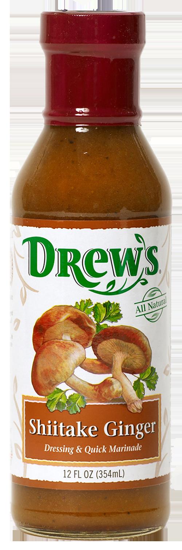Drew's Shiitake Ginger Dressing