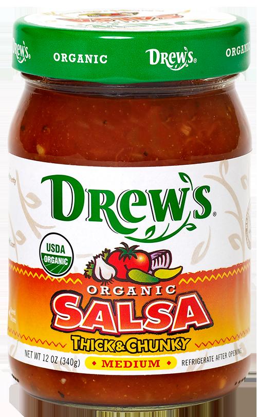 Drew's Organic Medium Salsa