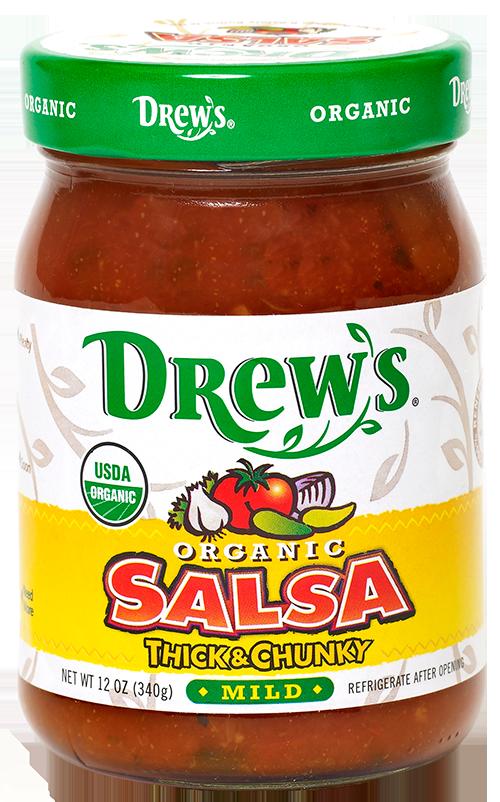 Drew's Organic Mild Salsa