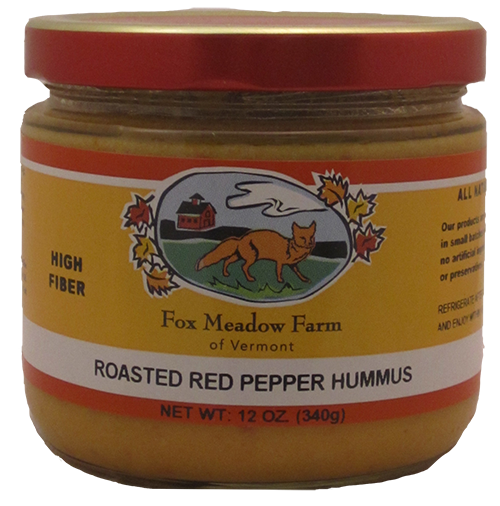 Fox Meadow Roasted Red Pepper Hummus