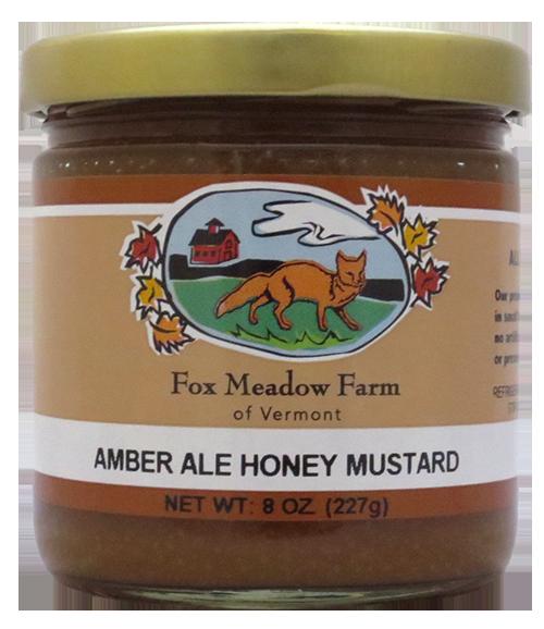 Fox Meadow Amber Ale Mustard