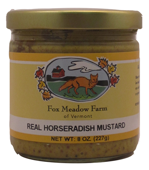 Fox Meadow Real Horseradish Mustard
