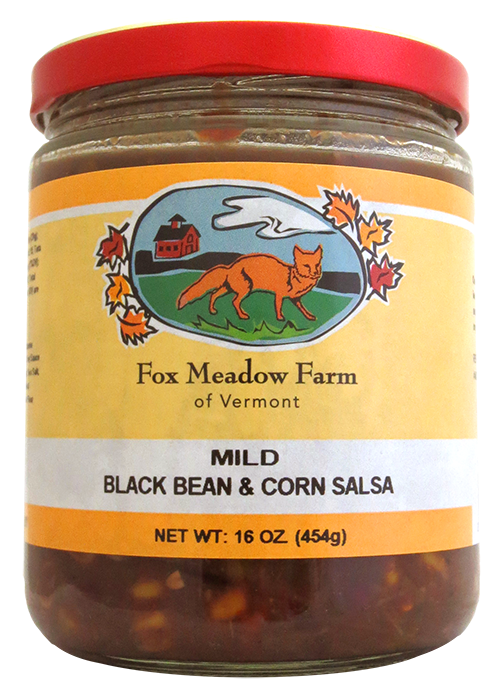 Fox Meadow Mild Black Bean Salsa
