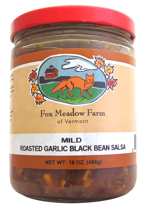 Fox Meadow Roasted Garlic Black Bean Salsa
