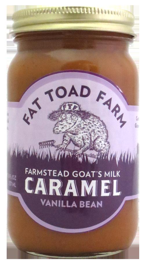 Fat Toad Farm Caramel Vanilla Bean Sauce