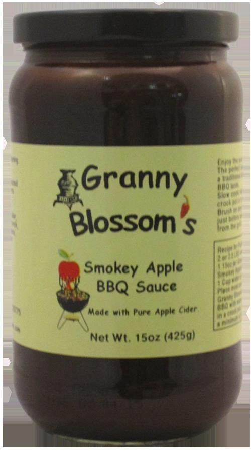Granny Blossom's Smokey Apple BBQ Sauce