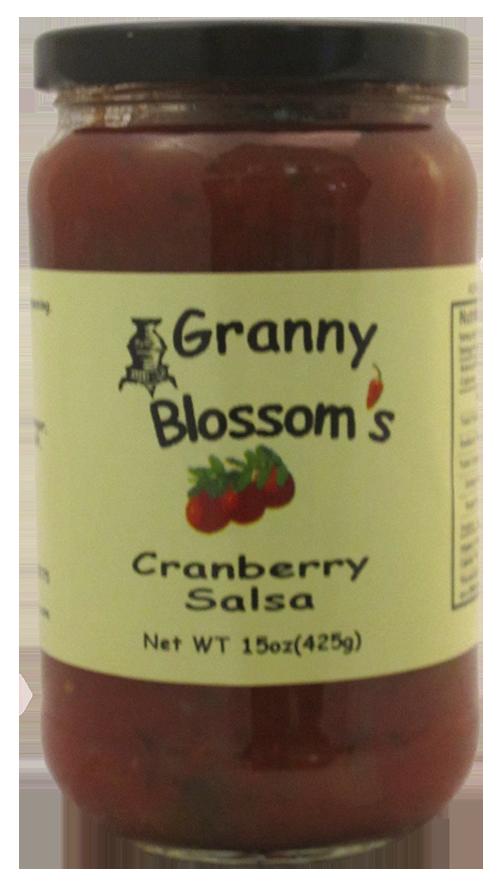 Granny Blossom's Cranberry Salsa