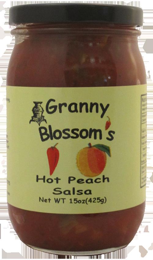 Granny Blossom's Hot Peach Salsa