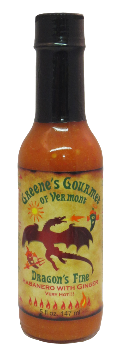 Greene's Gourmet Dragon Fire Hot Sauce