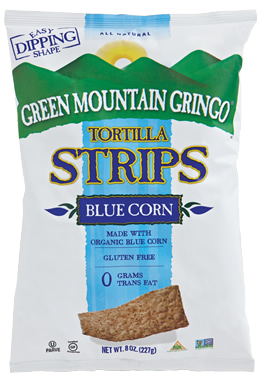 Green Mountain Gringo Organic Blue Tortilla Strips