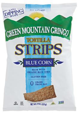 Green Mountain Gringo Organic Blue Tortilla Strips