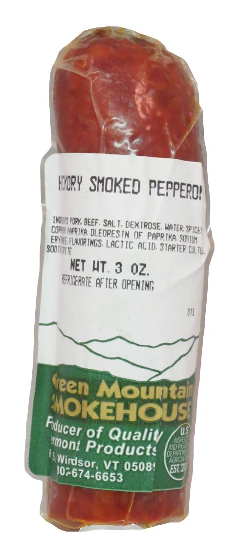 Green Mountain Smokehouse Pepperoni (snack size)
