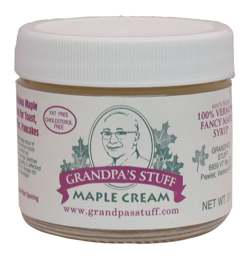 Grandpa's Stuff Maple Cream