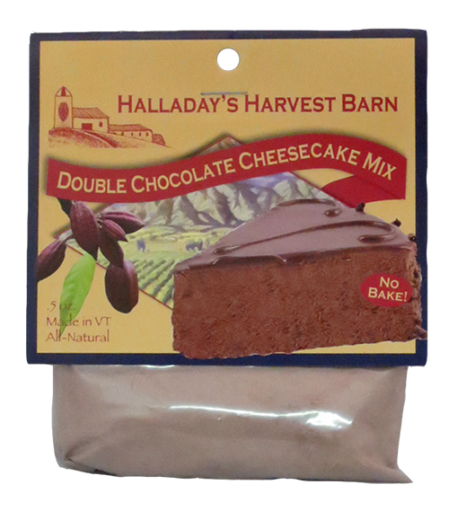 Halladay's Double chocolate Cheesecake Mix