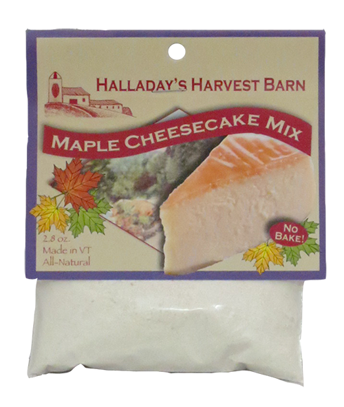 Halladay's Maple Cheesecake Mix