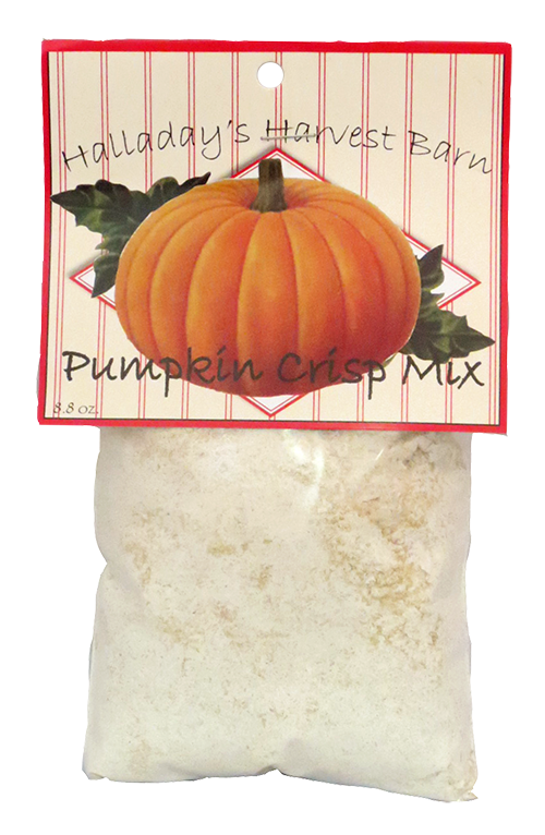 Halladay's Pumpkin Crisp Mix