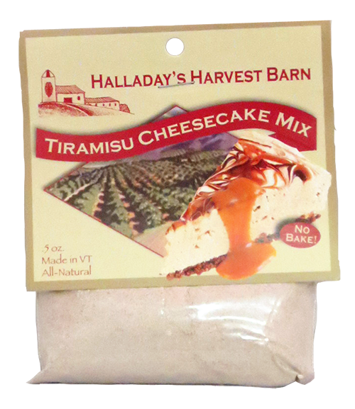 Halladay's Tiramisu Cheesecake Mix