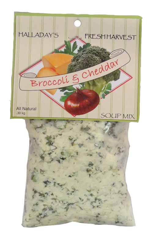 Halladay's Broccoli Cheddar Soup Mix