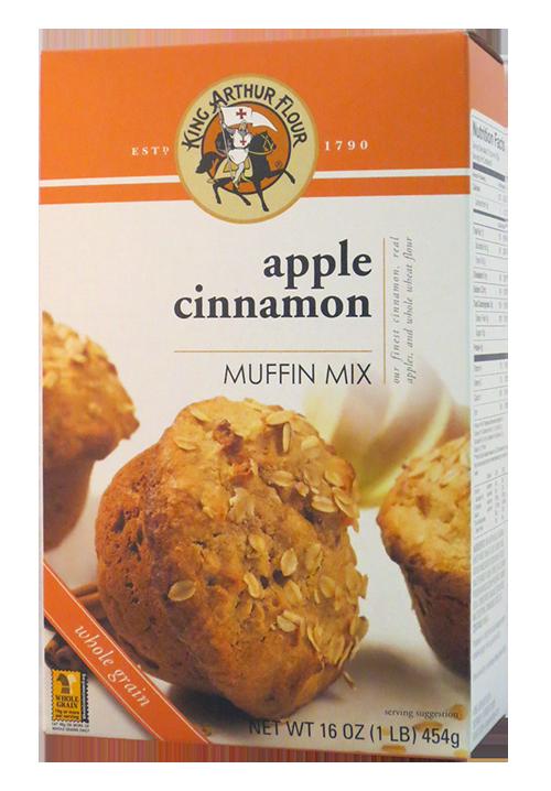 King Arthur Flour Apple Cinnamon Muffin Mix