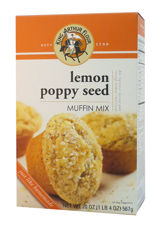 King Arthur Flour Lemon Poppy Seed Muffin Mix