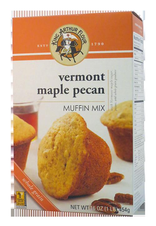 King Arthur Flour VT Maple Pecan Muffin Mix