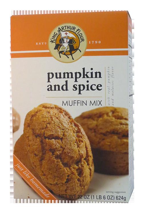 King Arthur Flour Pumpkin Spice Muffin Mix