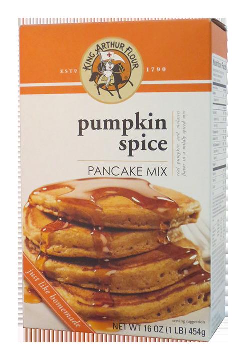 King Arthur Flour Pumpkin Spice Pancake 16oz.